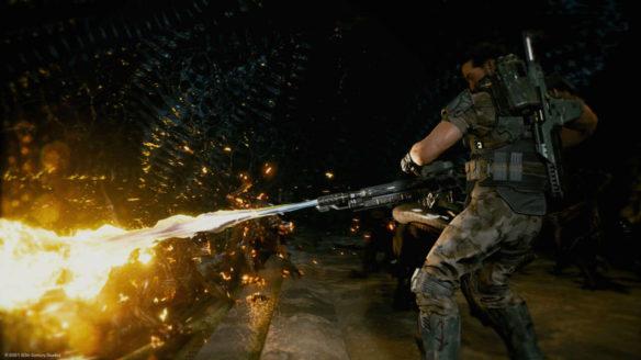 Aliens Fireteam Elite walka z obcym