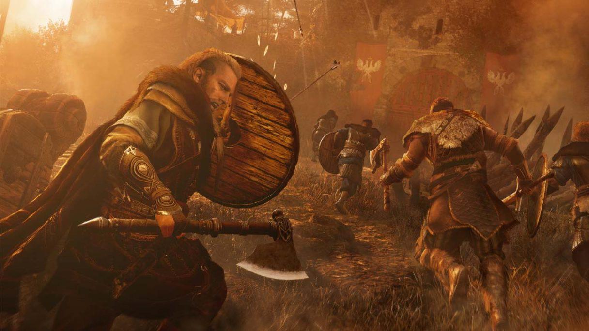Assassin's Creed Valhalla - Eivor przeprowadza szturm