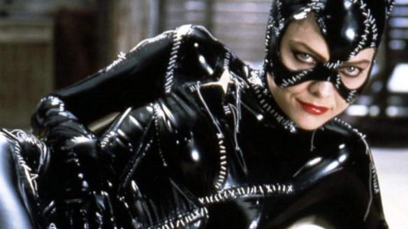 Batman - kochanka bohatera Catwoman w seksownej pozie