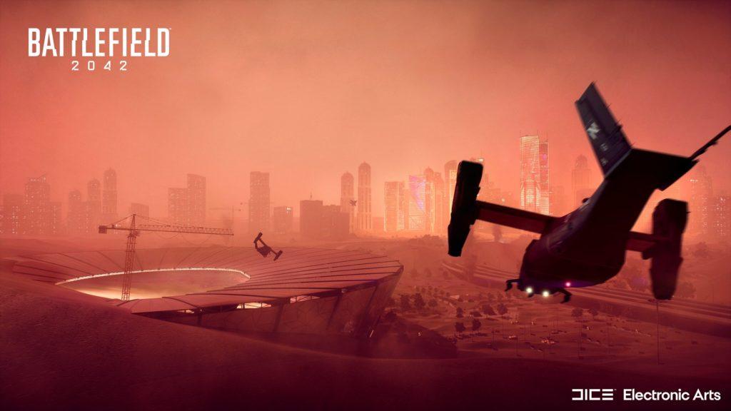 Battlefield 2042 - mapa Klepsydra w Doha, Katar