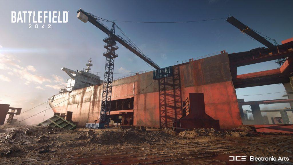 Battlefield 2042 - mapa Wrakowisko, która ma miejsce w Alang, Indie