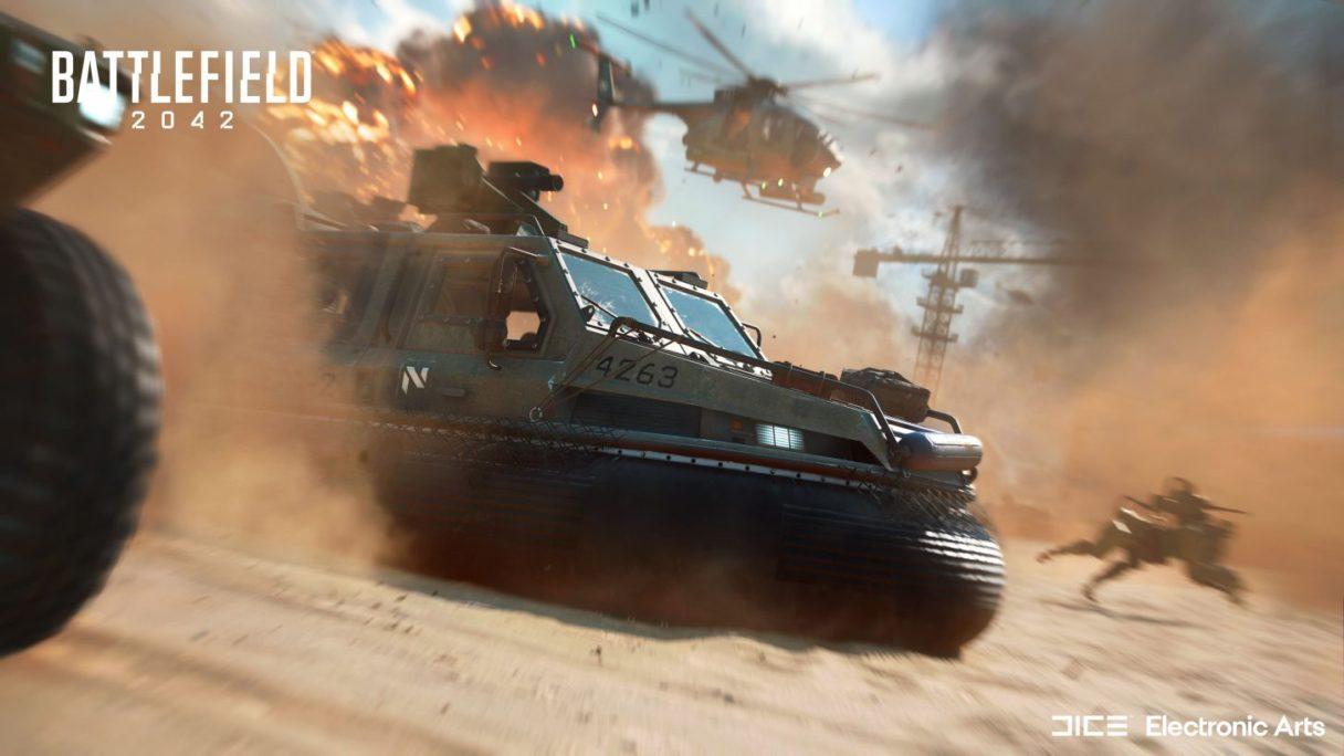 Battlefield 2042 - zrzut ekranu