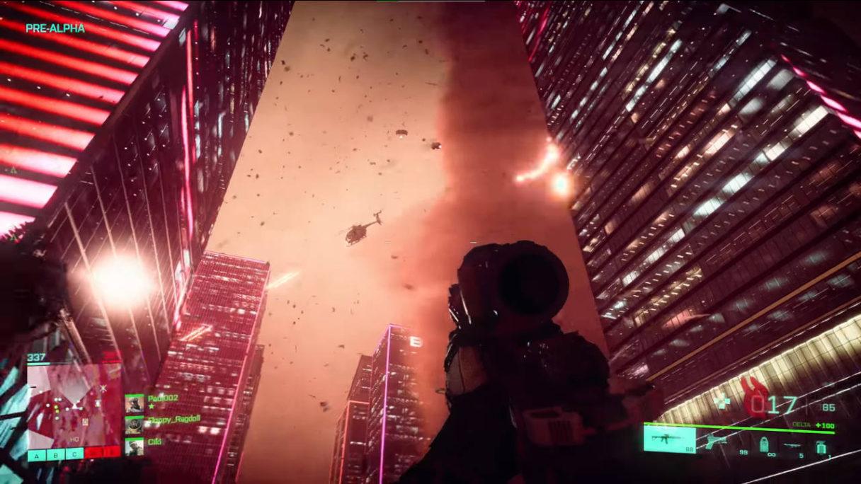 Battlefield 2042 - tornado w grze