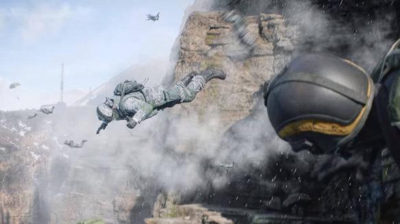 Battlefield 2042 - żołnierz pokazuje kciuk w górę przed śmiercią