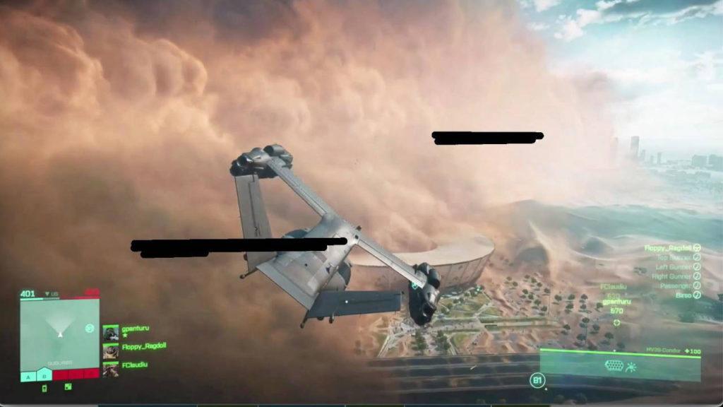 Battlefield 6 - Screen z gry podczas lotu odrzutowcem