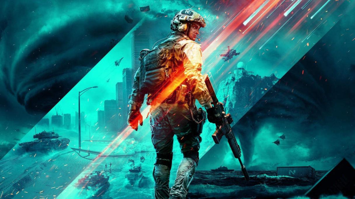 Battlefield 2042 lub 6 - żołnierz idący przed siebie