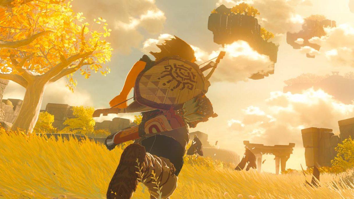 The Legend of Zelda Breath of The Wild 2 - zrzut ekranu z gry