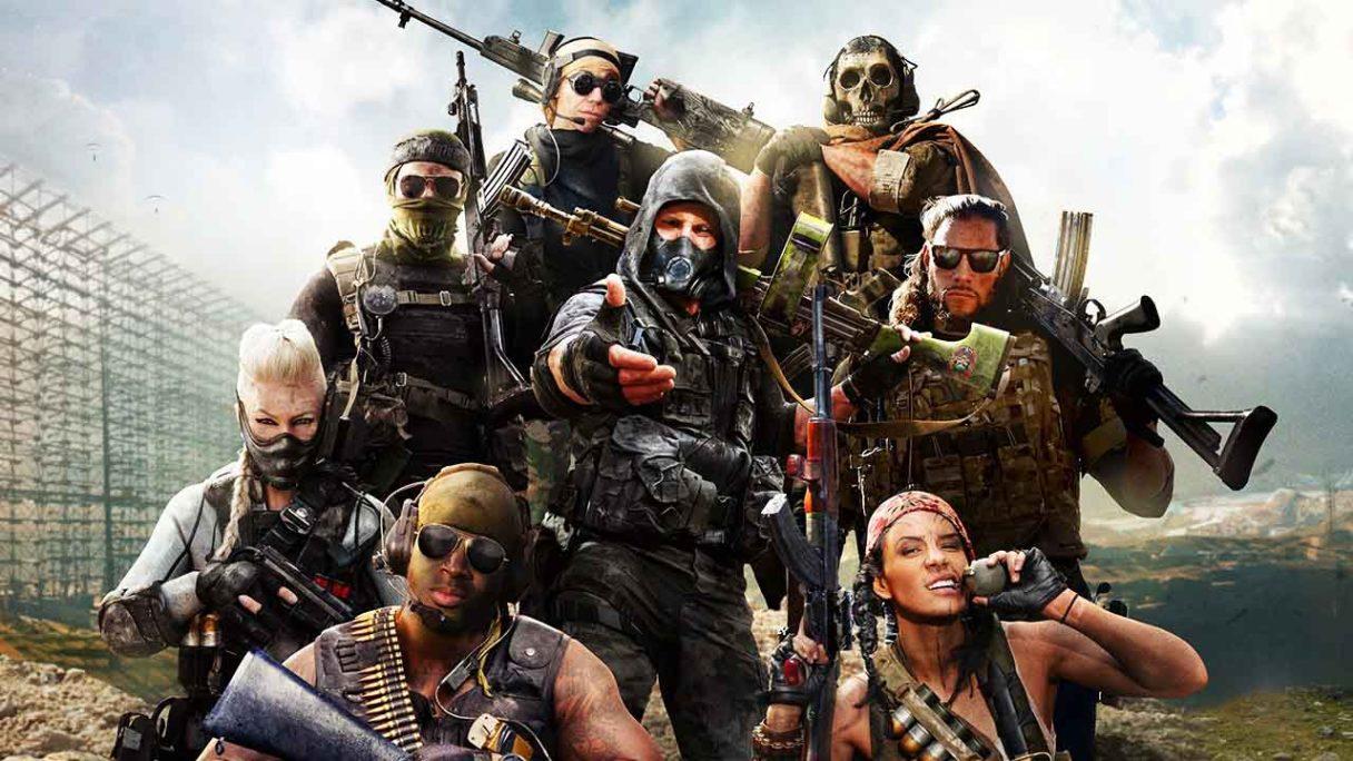 TOP 5 darmowych gier wieloosobowych - Call of Duty Warzone