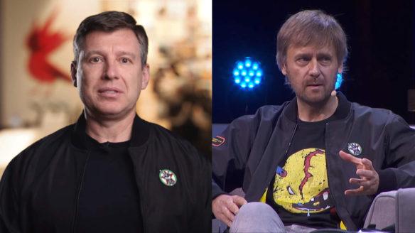 CD Projekt - Michał Kiciński i Marcin Iwiński