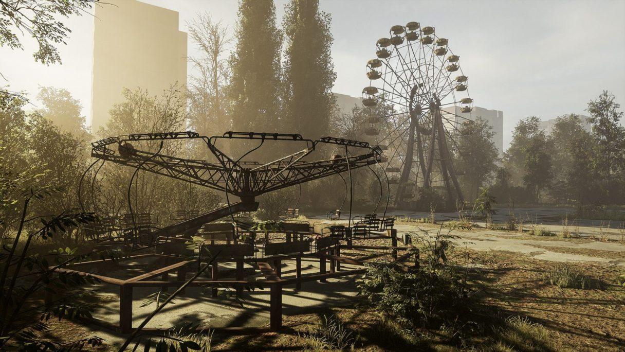 Chernobylite opuszczone miasto