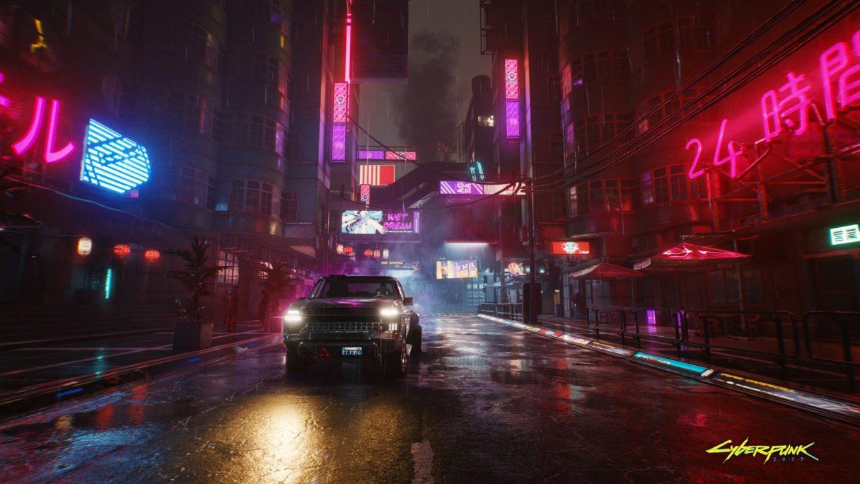 Cyberpunk 2077 pojazdy