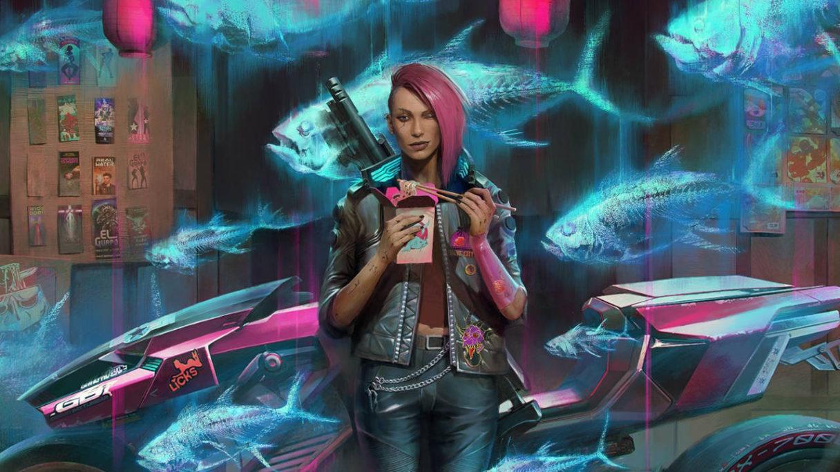 Cyberpunk 2077 - V je chińszczyznę