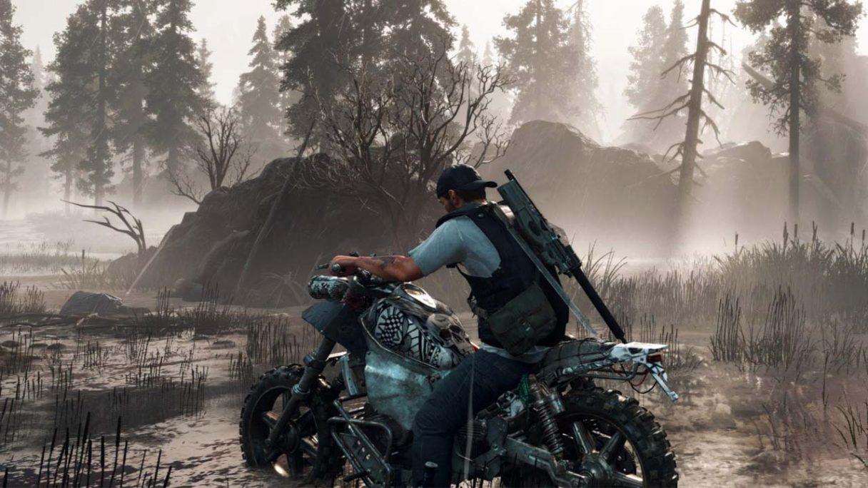 Zmodowane Days Gone na PC - zrzut ekranu