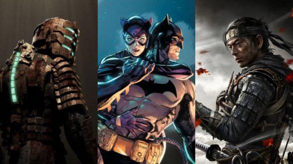 DoGRYwka - główny bohater z DeadSpace, Batman i Catwoman, główny bohater Ghost of Tsushima