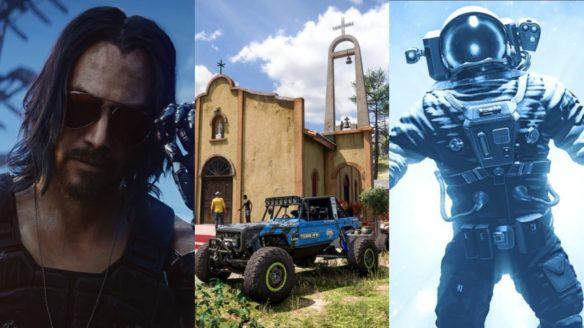 DoGRYwka - Johnny Silverhand, auto z Forza Hirozn 5 i kosmonauta ze Starfield