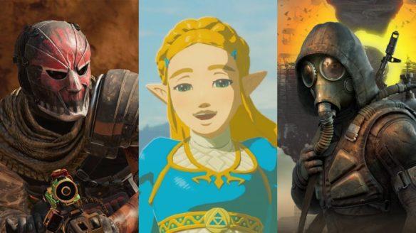 DoGRYwka - złol z CoD_ Warzone, Zelda z uśmiechem i mężczyzna w masce ze STALKER 2
