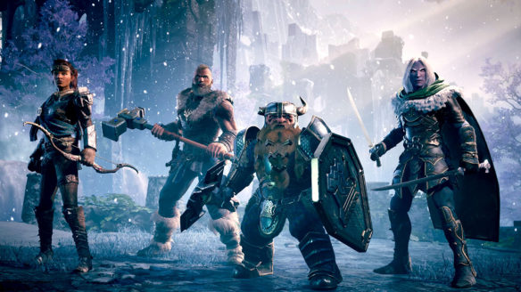 Dungeons & Dragons Dark Alliance bohaterowie