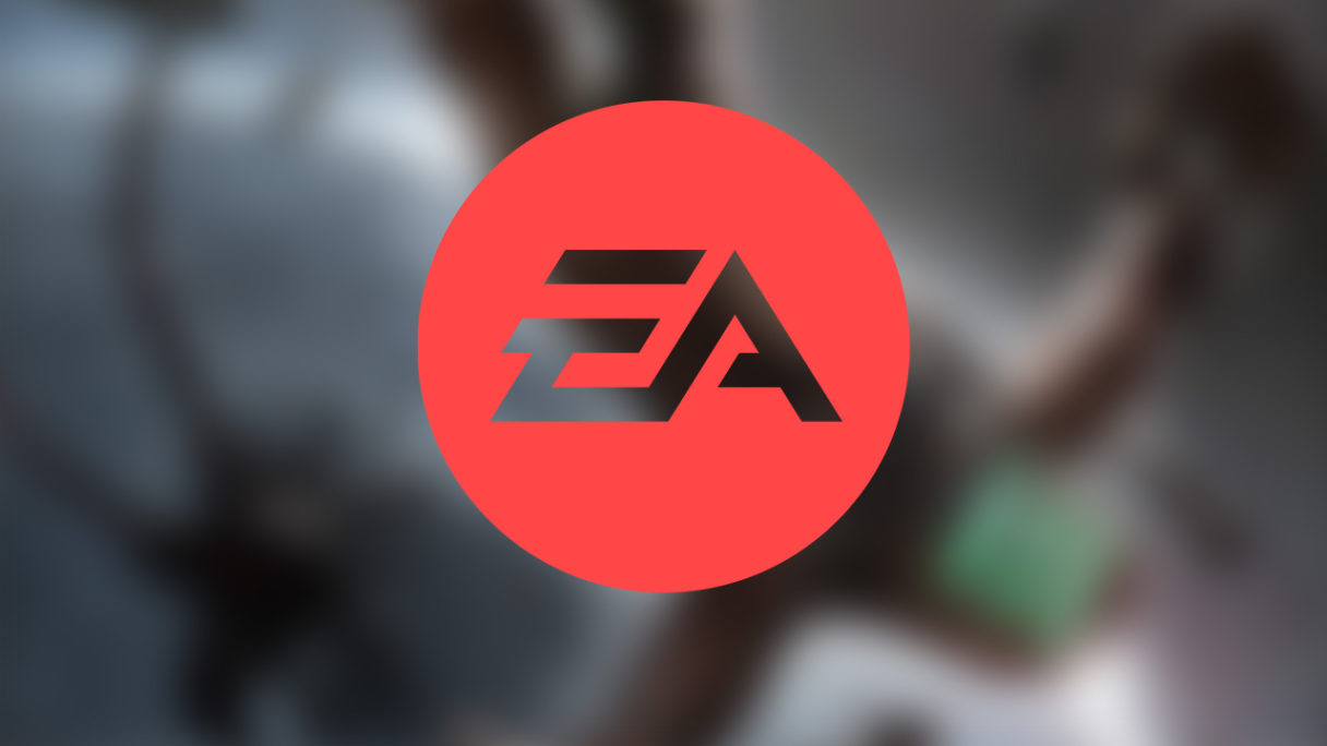EA - logo z Dead Space w tle