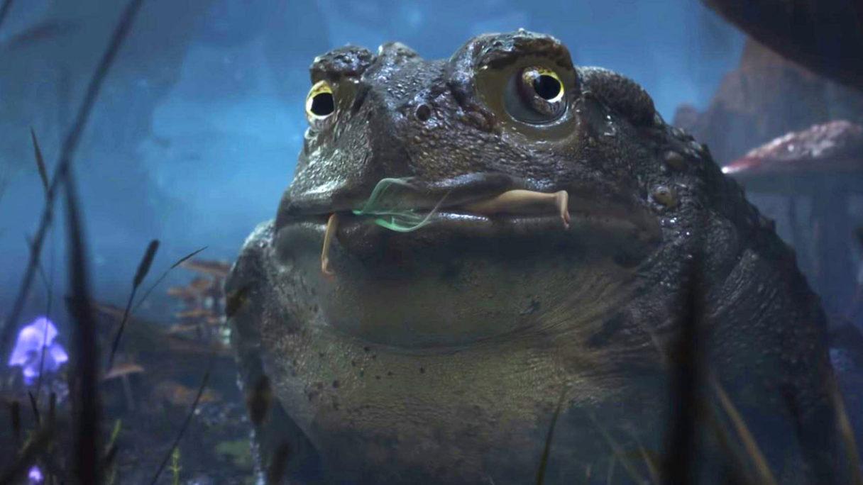 Fable - żaba zajada wróżkę