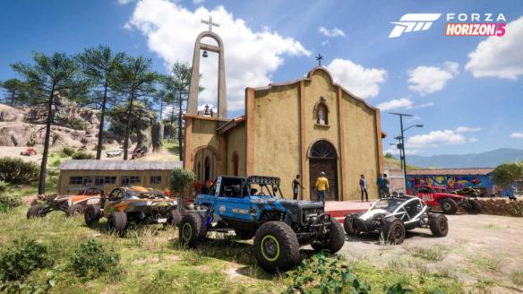 Forza Horizon 5 - kilka samochodów Buggie