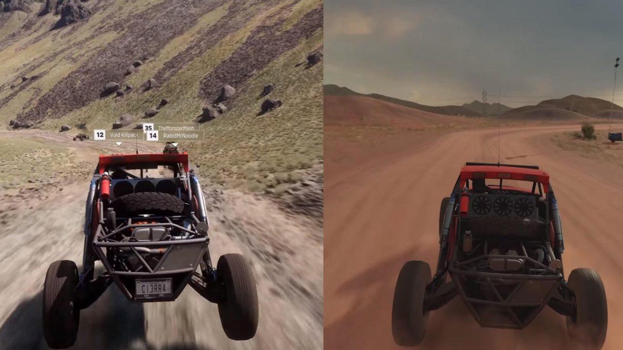 Forza Horizon 5 porównana z Forza Horizon 3