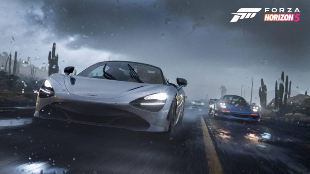 Forza Horizon 5 - wyścig samochodów w deszczu