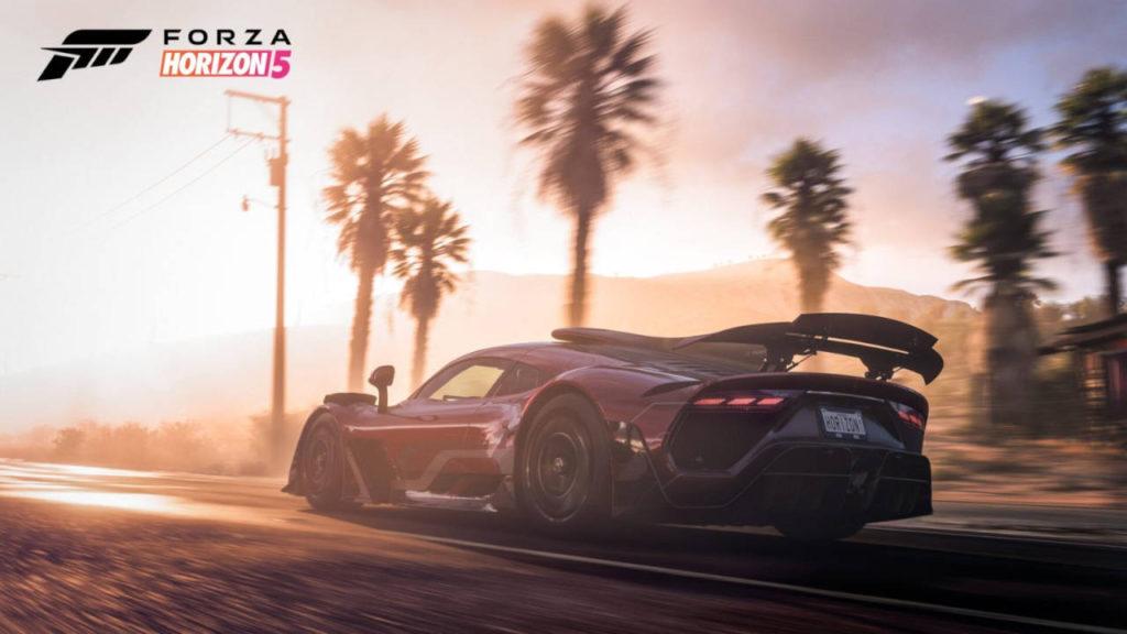 Forza Horizon 5 - wyścigowy samochód