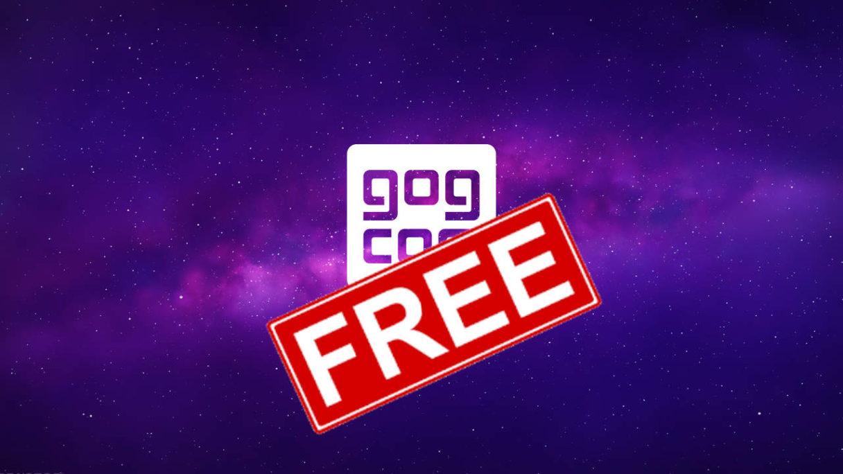 GOG Galaxy - logo ze stampem free - darmowe gry