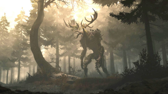 Greedfall - ogromny potwór w lesie - nowa edycja gry może trafić do PS Plus