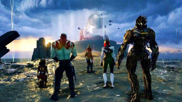 Guardians of the Galaxy - zrzut ekranu z gry