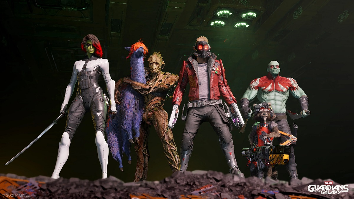 Guardians of the Galaxy bohaterowie