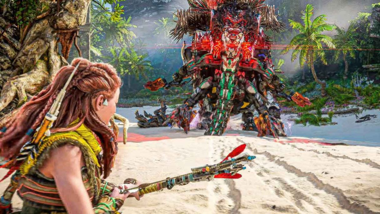 Horizon Forbidden West - zrzut ekranu