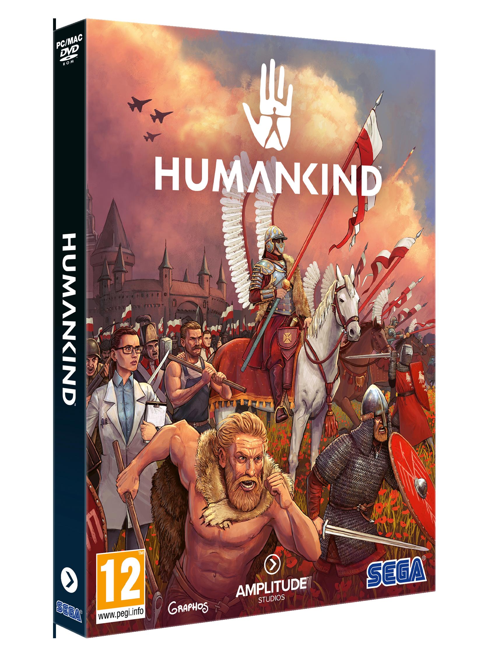 Humankind - polska okładka gry