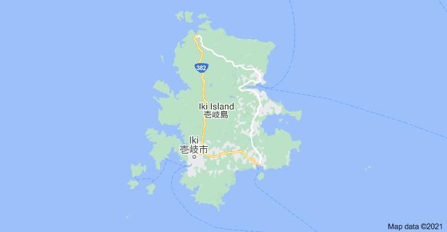 Ghost of Ikishima - zdjęcie wyspy