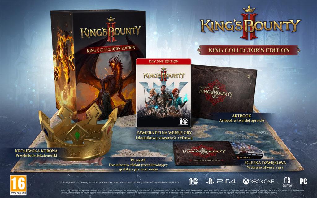 King's Bounty 2 - zdjęcie edycji kolekcjonerskiej