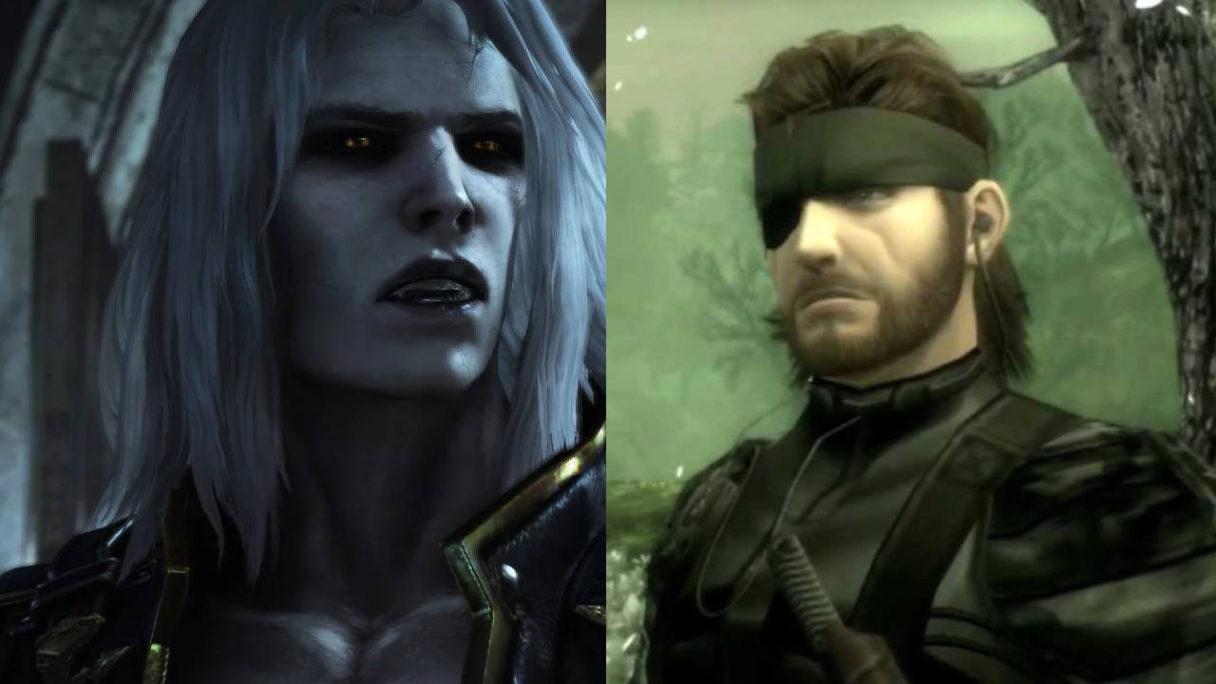 Konami - bohaterowie z gier Metal Gear Solid i Castlevania