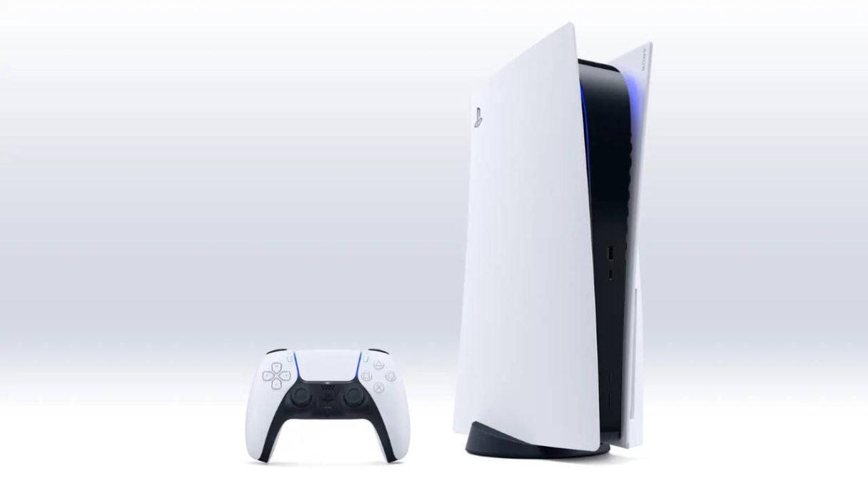 Konsola PS5 z padem DualSense