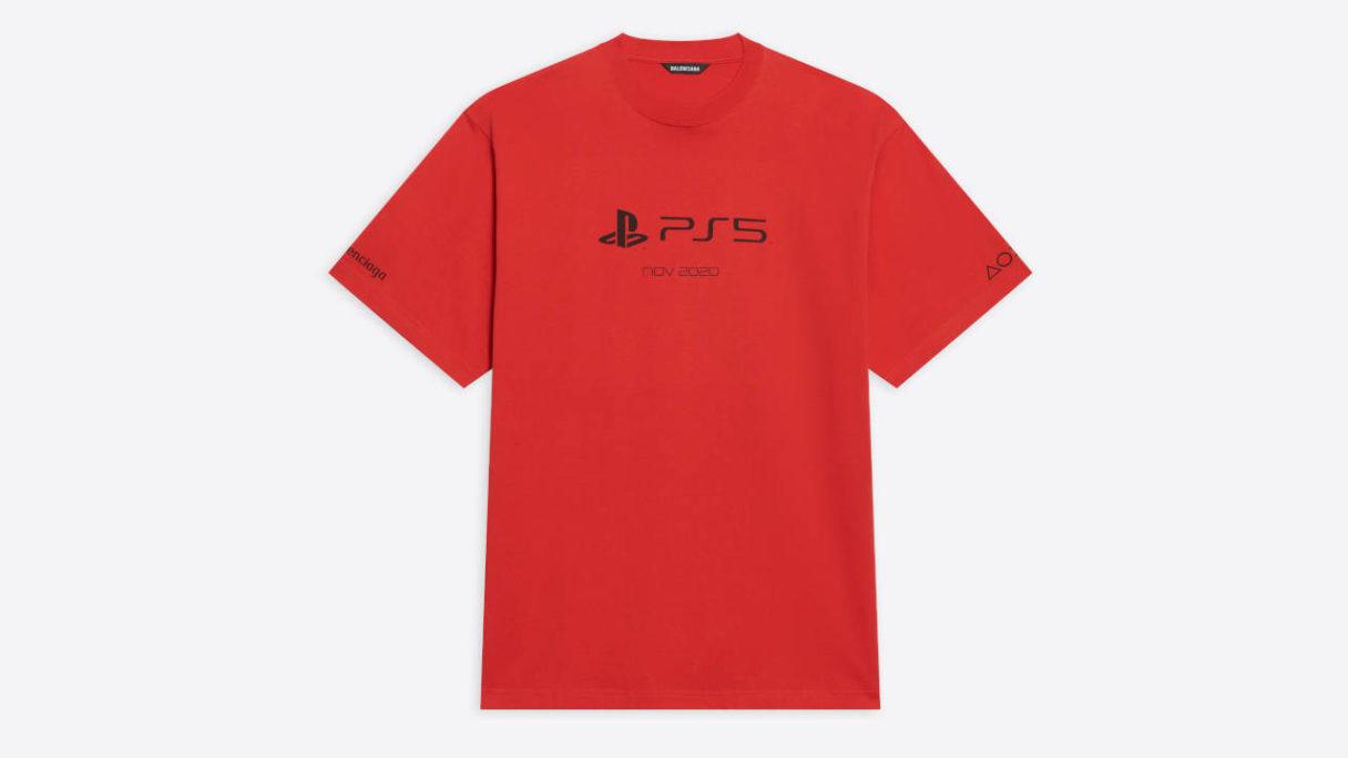 koszulka PlayStaion x Balenciaga za ponad 500 euro