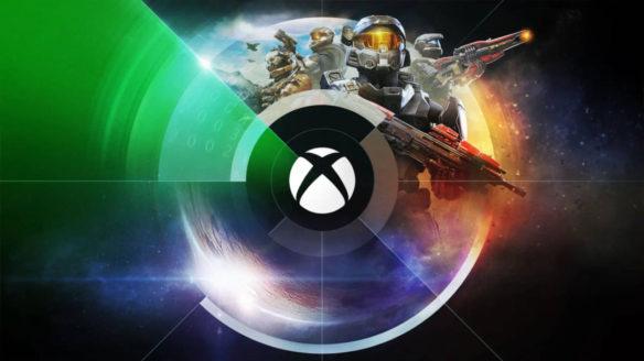 Logo Xbox i bohaterowie z serii Halo