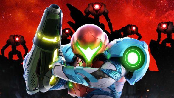 Metroid Dread - Samus i roboty