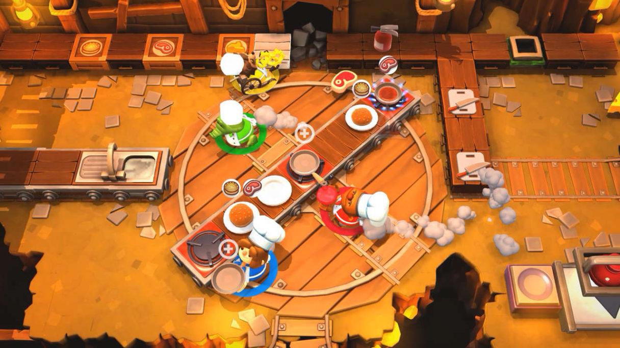 Darmowe Gry - Overcooked 2 - kucharze biegają po kuchni