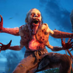 potwór z 4 rękami z gry Back 4 Blood