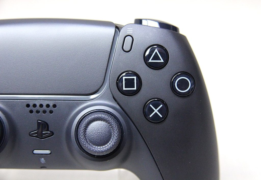 przyciski DualSense Midnight Black