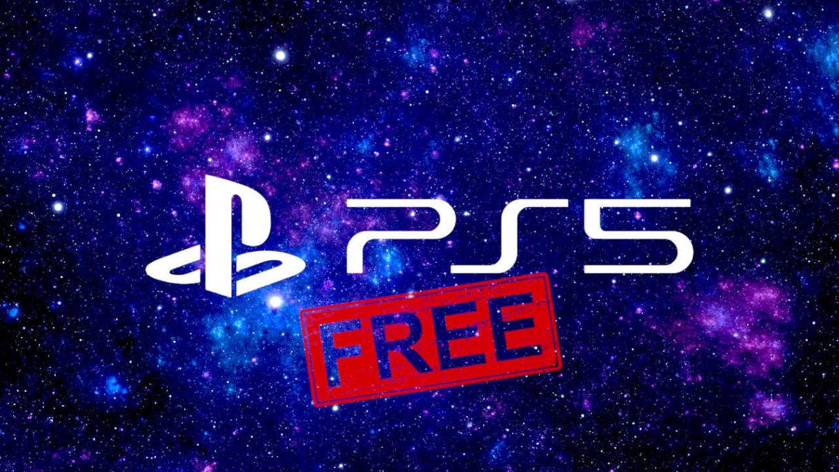 PS5 - TOP 10 darmowe gry - logo PS5