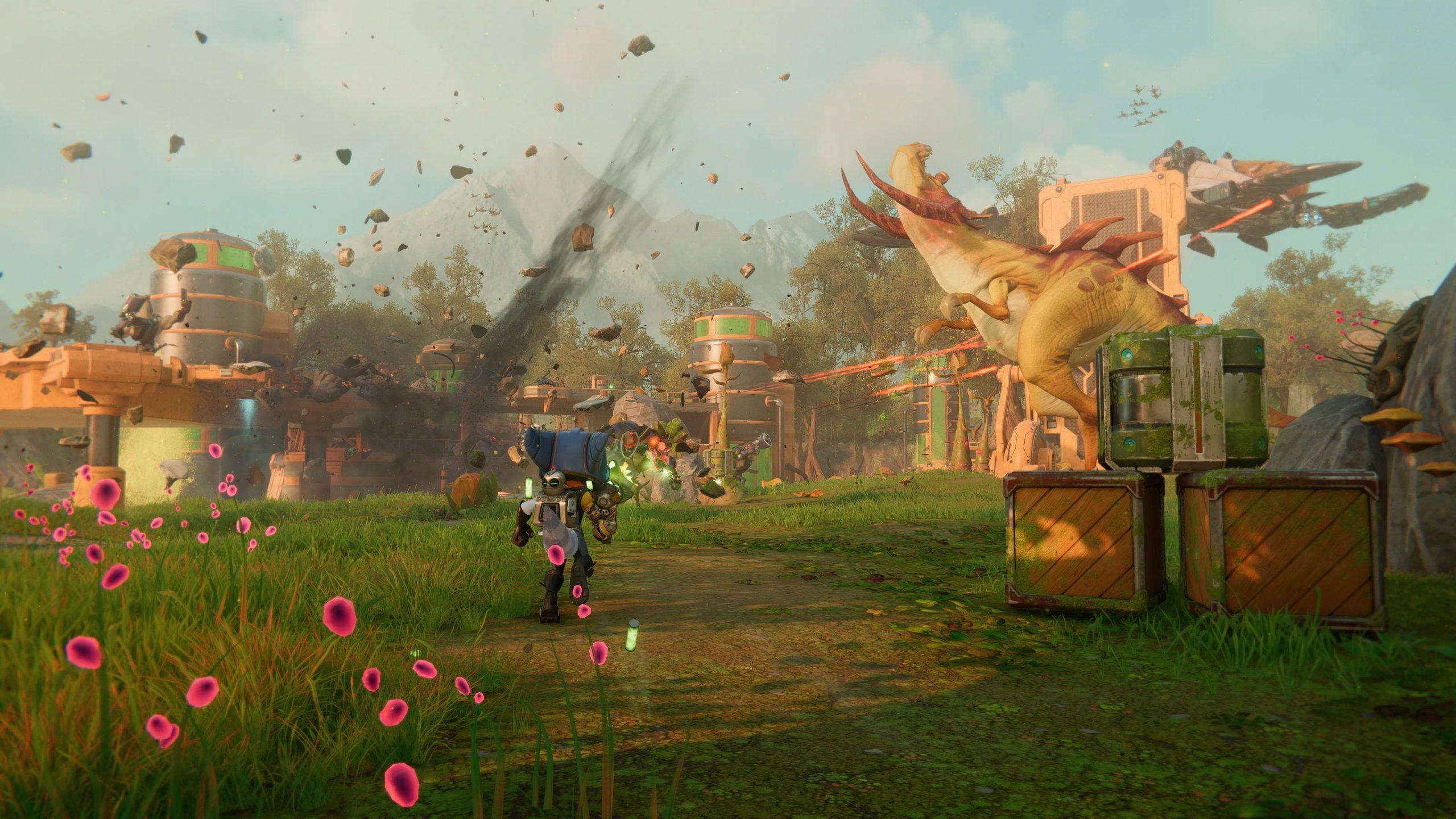 Ratchet and Clank Rift Apart - zrzut ekranu 3