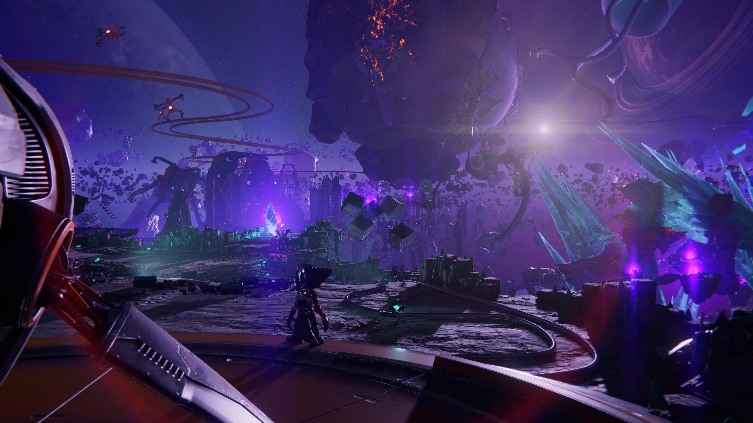 Ratchet and Clank Rift Apart - zrzut ekranu 2