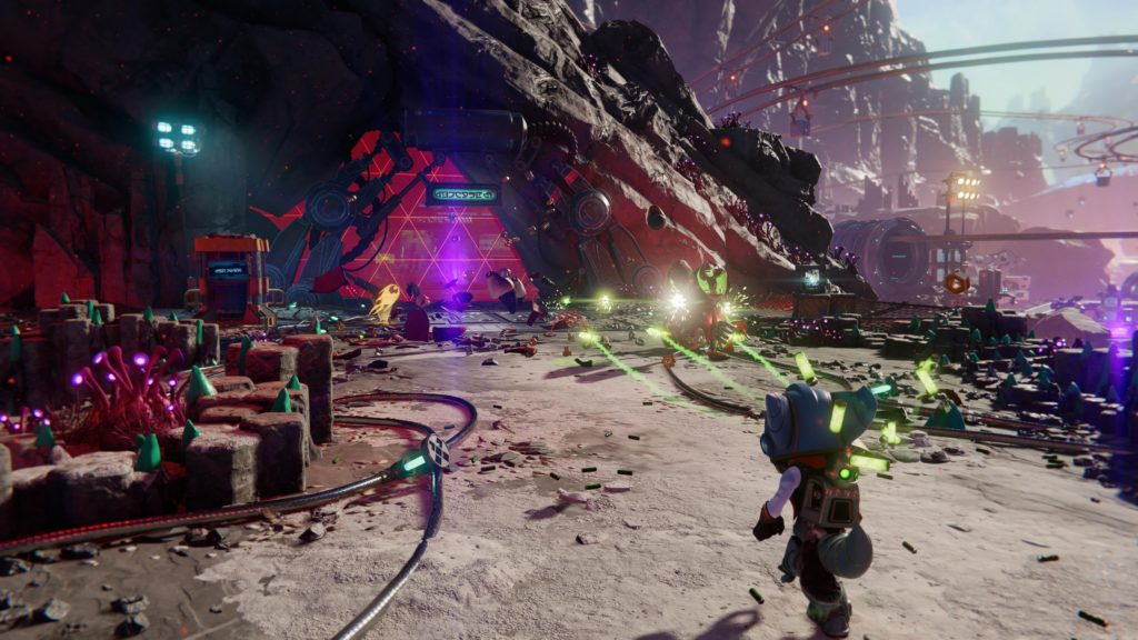 Ratchet and Clank Rift Apart - zrzut ekranu 5