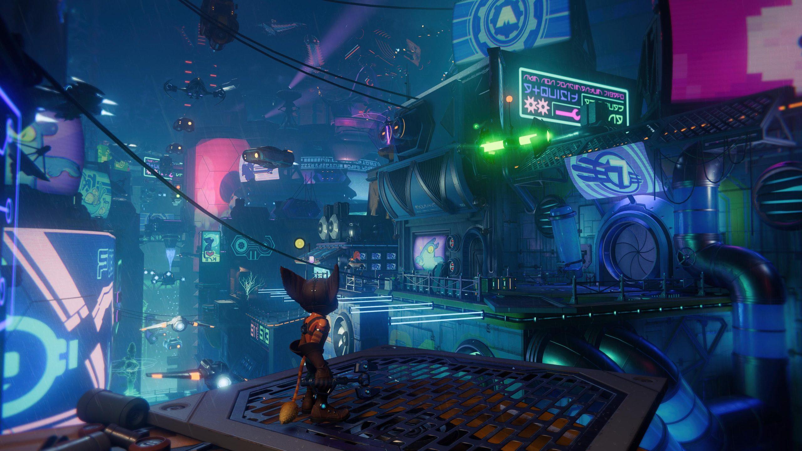 Ratchet and Clank Rift Apart - zrzut ekranu 4