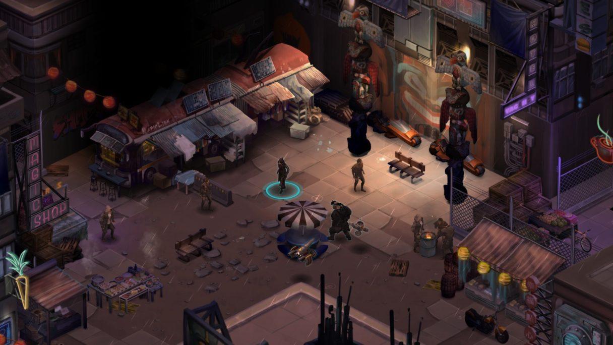Shadowrun Returns screen mrok