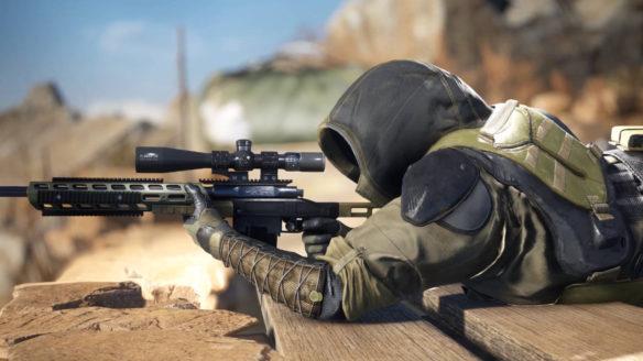 Sniper Ghost Warrior Contracts 2 - snajper celuje z karabinu snajperskiego